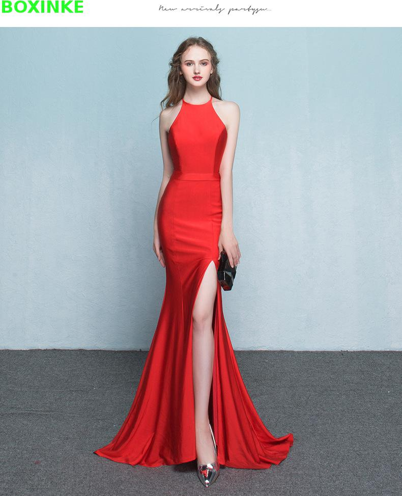Lace Dress Robe Sale Solid Lanon Polyester Dress New Style Long Fashion Fish Tail Hanger Sexy Banquet Night Shop Big Length in Dresses from Women 39 s Clothing