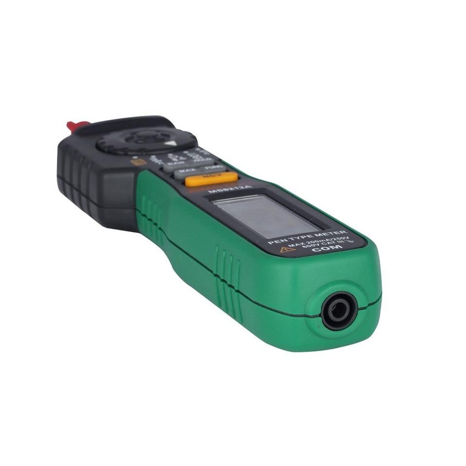 Mastech MS8212A Pen type Digital Multimeter DC/AC Current Voltage Multimetro Tester Diode Continuity Logic Non-contact Voltage  цены