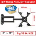 free shipping 10 inch 24in 30 inch 37inch tiltable swivel LCD LED PLASMA tv wall bracket mount stand holder