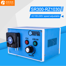 Flow Rate Adjustable Peristaltic Liquid Pump Water Chemicals Dosing