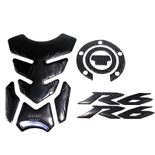 Motorcycle Decoration Sticker Fuel Tank Pad Decals Gas Cap Pad Cover Stickers For YAMAHA YZF- R6 FZ6R FZ6