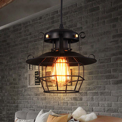 Loft Vintage Pendant Lamp American Style Hanging Lamp Creative Industrial Style Pendant Lighting Bar Edison Vintage Light 2 pcs loft retro light rusty color hanging lamp cafe bar pendant lights creative edison lamps industrial style pendant lighting