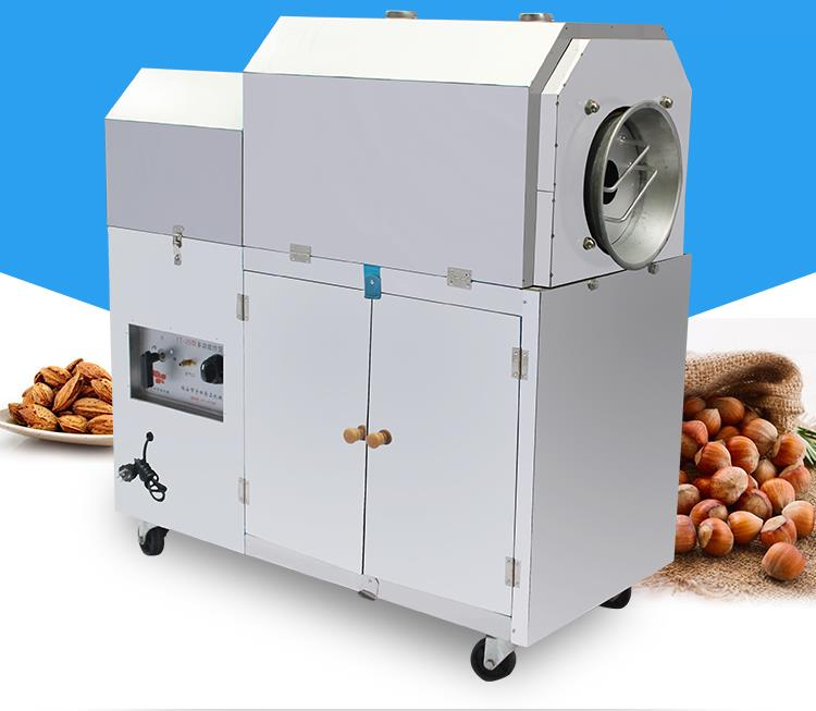 Multifunctional Nuts Frier Commercial Drying Machine Gas Type Nuts Fry Machine 25-type gasMultifunctional Nuts Frier Commercial Drying Machine Gas Type Nuts Fry Machine 25-type gas