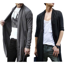 Herbst und Frühling Pullover Männer Koreanische Stil Einfarbig männer Cardigan Strickjacken Lässige Langarm Mode Pullover Für Männer
