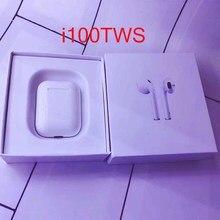 I100 TWS 1: 1 tws в ухо проверьте Bluetooth 5,0 беспроводные наушники для apl pk i80 I60 tws