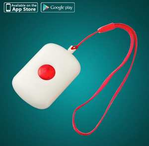 Wireless Necklace Panic Button For WIFI GSM GPRS Home Burglar Alarm System