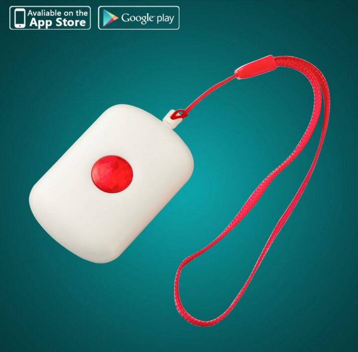 Wireless Necklace Panic Button For WIFI GSM GPRS Home Burglar font b Alarm b font System