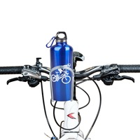 1PCS X Cycling Bike Bicycle Black Aluminum Alloy Handlebar Water Bottle Holder Cages