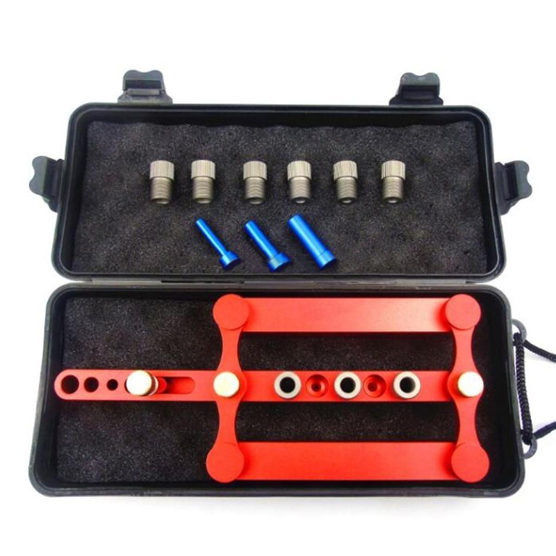Self Centering Doweling Jig Set Metric Dowel Drilling Jig For Woodworking Jig Tools 6/8/10mm Power Hand Tools