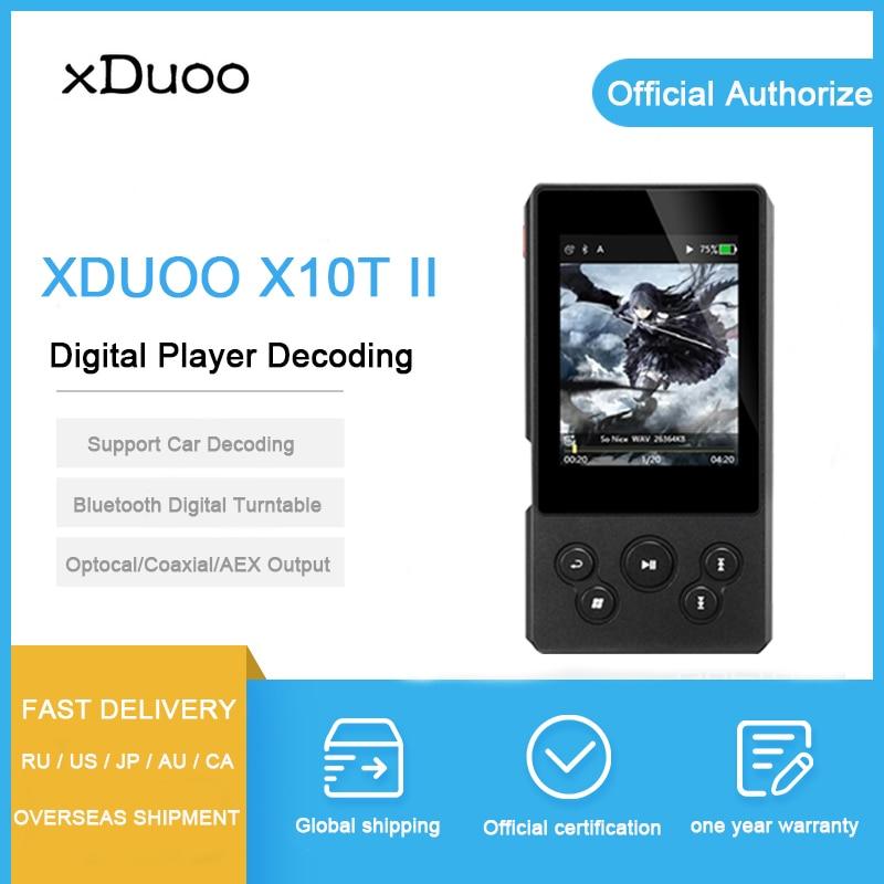 Analytisch Xduoo X10t Ii Digitale Dekodierung Player Bluetooth Plattenspieler Musik-player Unterstützung Dsd256 Optocal/koaxial/aex/usb Ausgang Für Auto Schrumpffrei Hifi-player Hifi-geräte