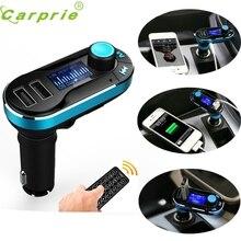 Лидер продаж Беспроводной Bluetooth-гарнитуры для авто MP3-плеер fm-передатчик SD TF Dual USB зарядки Green_KXL0427
