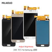 TFT LCD Display For Samsung Galaxy J2 2015 J200 J200F J200H SM J200FN Touch Screen Digitizer Adjustable Brightness Assembly