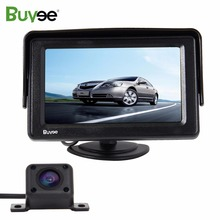 Buyee Car parking assist kit 4.3'' TFT LCD car monitor +170 Wide View Angle IR HD Car Reverse Rear View Camera Camera automovil car rear camera car backup reverse camera rear view camera with 170 wide angle and cheap price parking assist