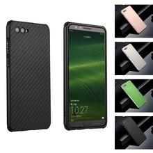 For Huawei Nova 2S Case Aluminum Metal Frame+Carbon Fiber Hard Back Cover for Shockproof Phone Shell 6.0
