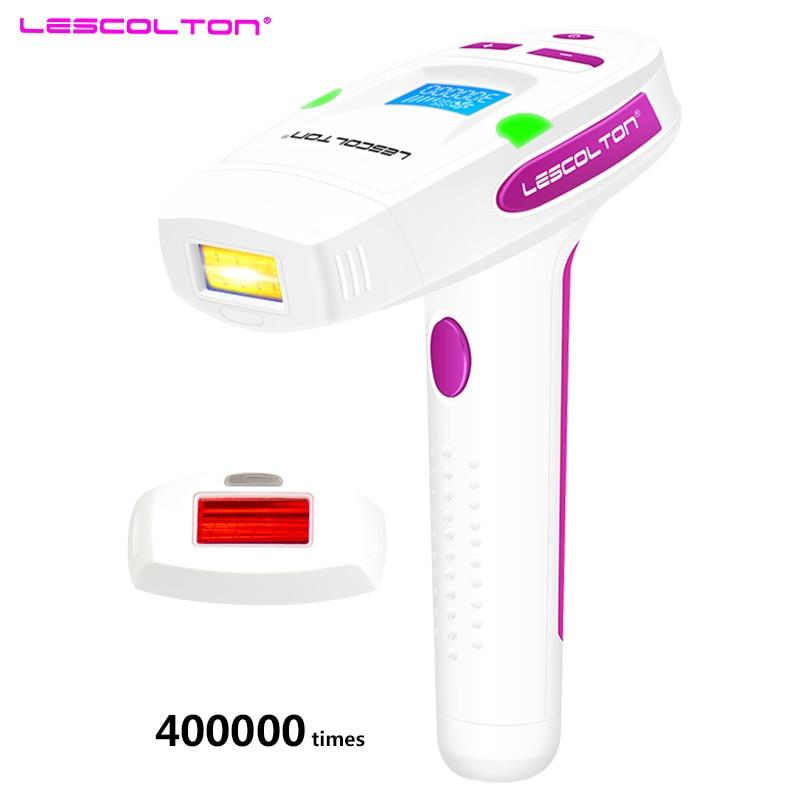 Lescolton Permanente 2in1 Depilador una depilazione Laser IPL Casa lazer epilasyon Rasatura Depilador Wholde donne depilador laser
