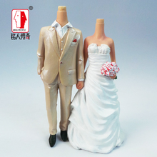 Wedding gift custom wedding Cake Topper Personalized Custom real doll custom clay dolls fixed resin body SR015