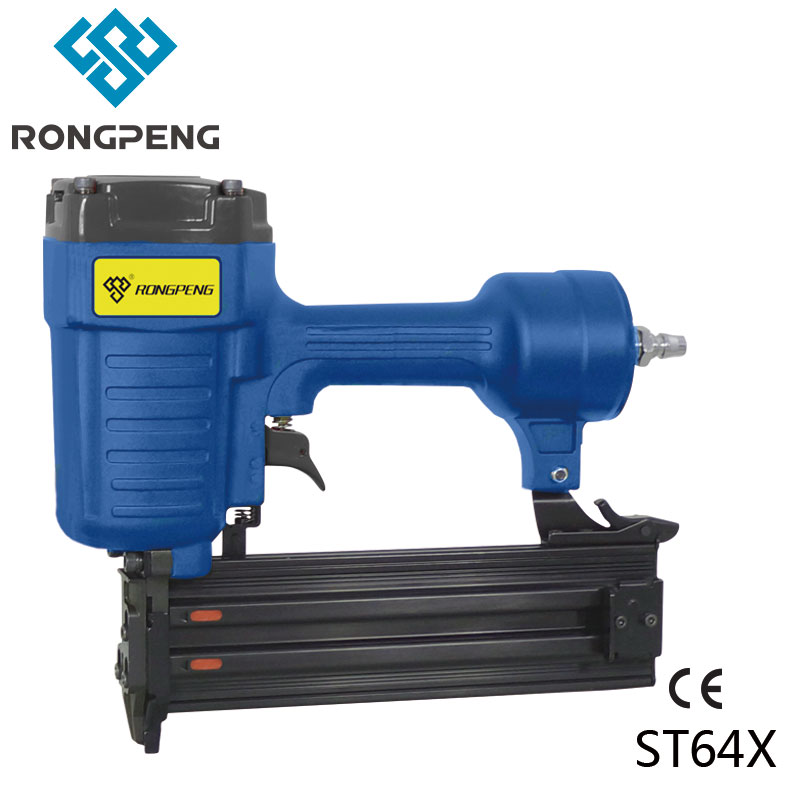 RONGPENG PROFESSIONAL CONCRETE NAILER ST64X GUAGE 14 PNEUMATIC TOOL 18-64MM NAILS special hard concrete nails wall paintings nail