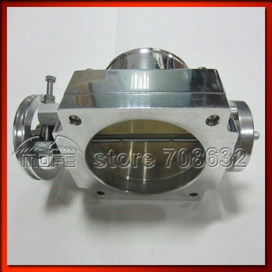 90 мм Универсальный Корпус дроссельной заслонки VQ38TPS серебристый