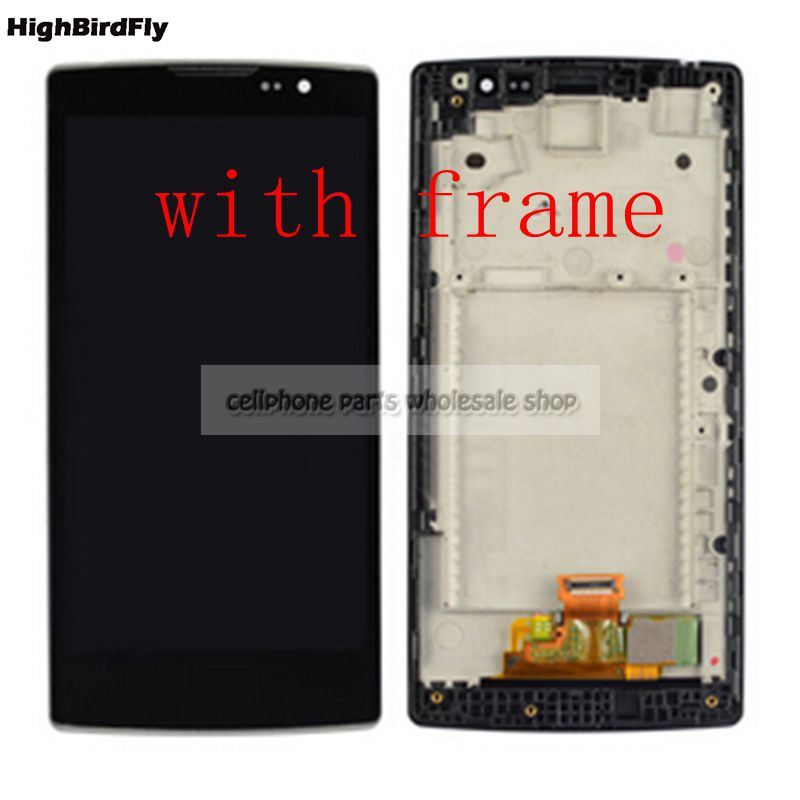 """4.7"""" For Lg Spirit H440 H442 H420 c70 H422 H440N H440Y Lcd Display With Touch Glass Digitizer Frame Assembly replacement"""