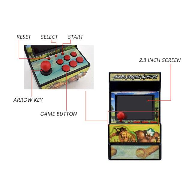 Retro Mini Arcade Game Console 3