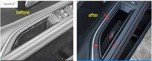 Аксессуары для peugeot 3008 3008GT 2017 2018 автомобилей спереди внутри автомобиля дверные хранения паллет подлокотник контейнер крышку коробки комплект отделкой