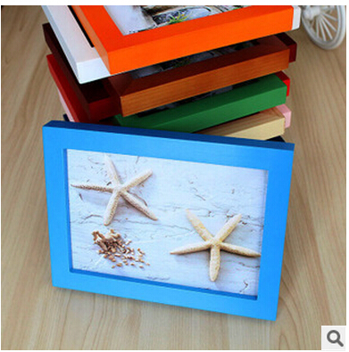 1piece Home Decor Wooden Rectangular Table and Wall Photo Frame A variety of specifications in Frame from Home Garden