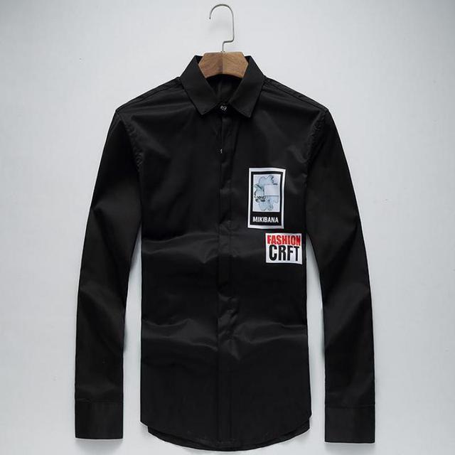 Camisa Masculina Brand Clothing Slim Male Long-sleeve Easy Care Shirt Plus Size 5XL XXXXXXL Chemise Homme