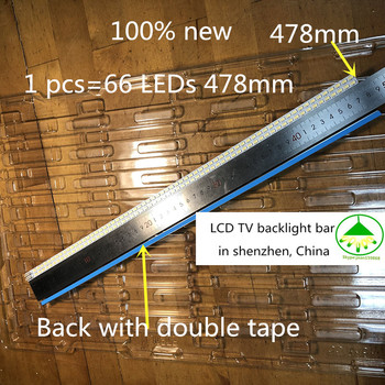 5 pieces/lot New Backlight Lamp LED Strip For Konka LED42IS97N 35015765 KPL+420B1CE10-RF light bar 66leds 478mm Free Shipping