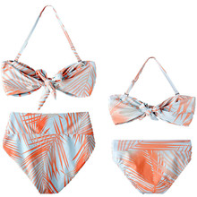Mommy and Me Toddler Girl Tropical Bikini Swimsuit