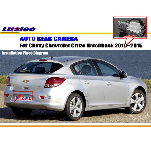 liislee reverse rear camera for chevy chevrolet cruze hatchback 2010 rh aliexpress com Backup Camera Wiring Connection IP Security Camera System Wiring Diagrams