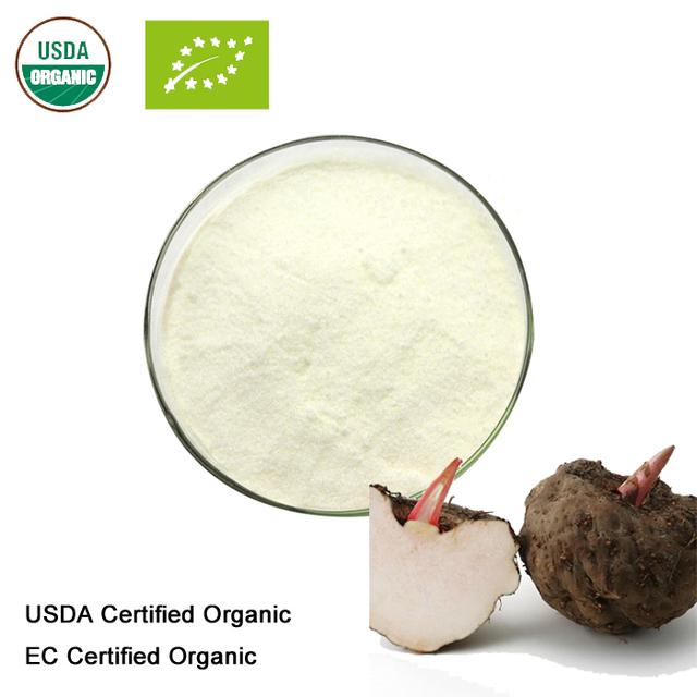 Organic Glucomannan Extract 10:1: 100g-1kg – Healthy Weight Control (Konjac Root)