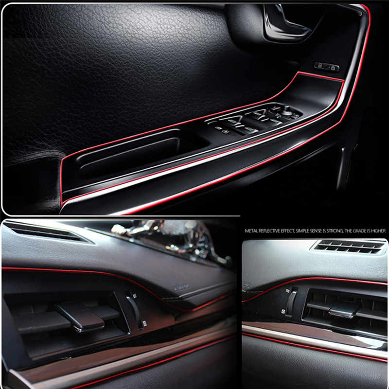 Auto Styling Lint Trim Strip Interieur Strip Mouldings Universal Dashboardcar Auto Styling 5M Velg Protector Decor