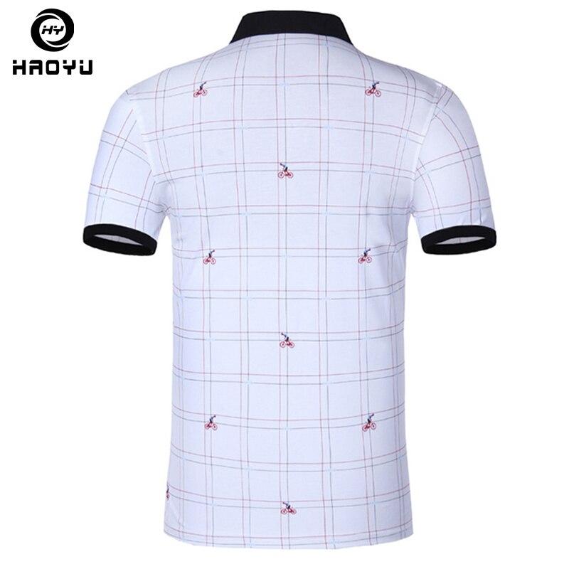 Heren poloshirt Beroemd merk Fashion Casual korte mouw Camisas - Herenkleding - Foto 2