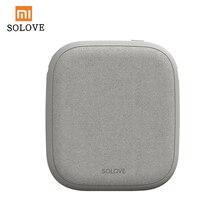 Xiaomi SOLOVE 10000 mAh כוח בנק מטען אלחוטי 2.1A מהיר טעינה דק נייד טלפון מטען עבור iPhone Xiaomi tablet