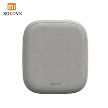 Xiaomi SOLOVE 10000mAh Power Bank Wireless Charger 2.1A Fast Charging Ultra thin Mobile Phone Charger for iPhone Xiaomi Tablet