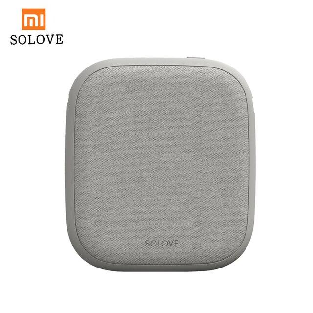Xiaomi SOLOVE 10000mAh cargador inalámbrico 2.1A carga rápida cargador ultrafino de teléfono móvil para iPhone Xiaomi Tablet