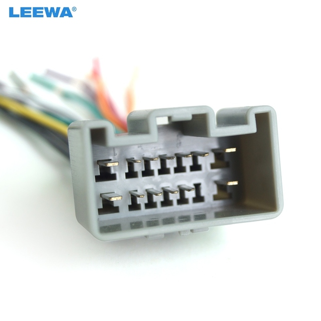leewa car oem audio stereo wiring harness adapter for buick sail install  aftermarket cd/dvd