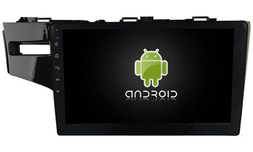 Navirider octa base Android 8.0 voiture radio lecteur 1080 p DVD enregistreur pour Honda Fit JAZZ 2014 carplay construit dans TDA7851 Amplificateur