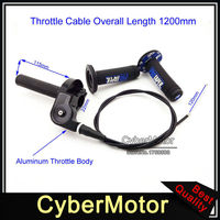 1 1/4 Turn Throttle Handle Grips Cable For CR RM 80 85 125 250 TTR 110 125 YZ 250 XR XL CRF 70 80 100 200 Pit Dirt Motor Bike