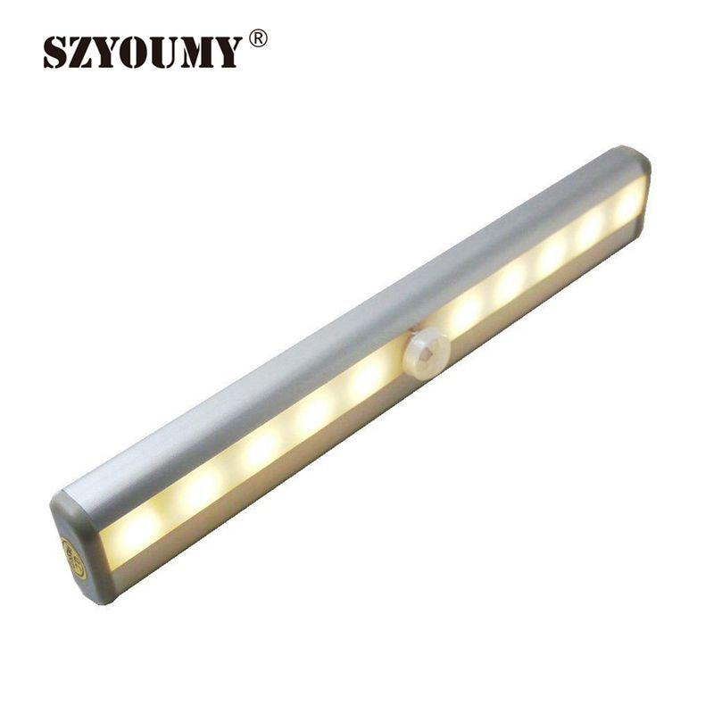 Szyoumy 2 Color Cool  Warm White Wireless Pir Motion Sensor