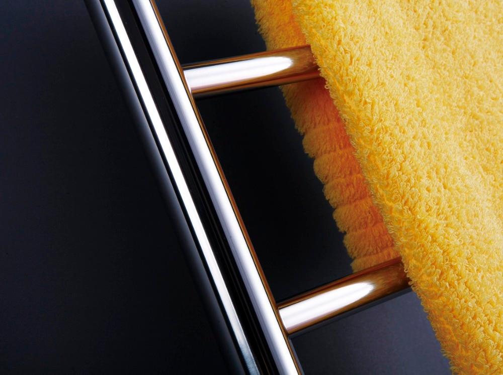 Elektrische Handdoekdroger Badkamer : Wandmontage handdoek warmer elektrische verwarmd handdoekenrek rvs