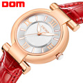 Watch Women DOM brand luxury Fashion Casual quartz watches leather sport Lady relojes mujer women wristwatches Girl G-1688