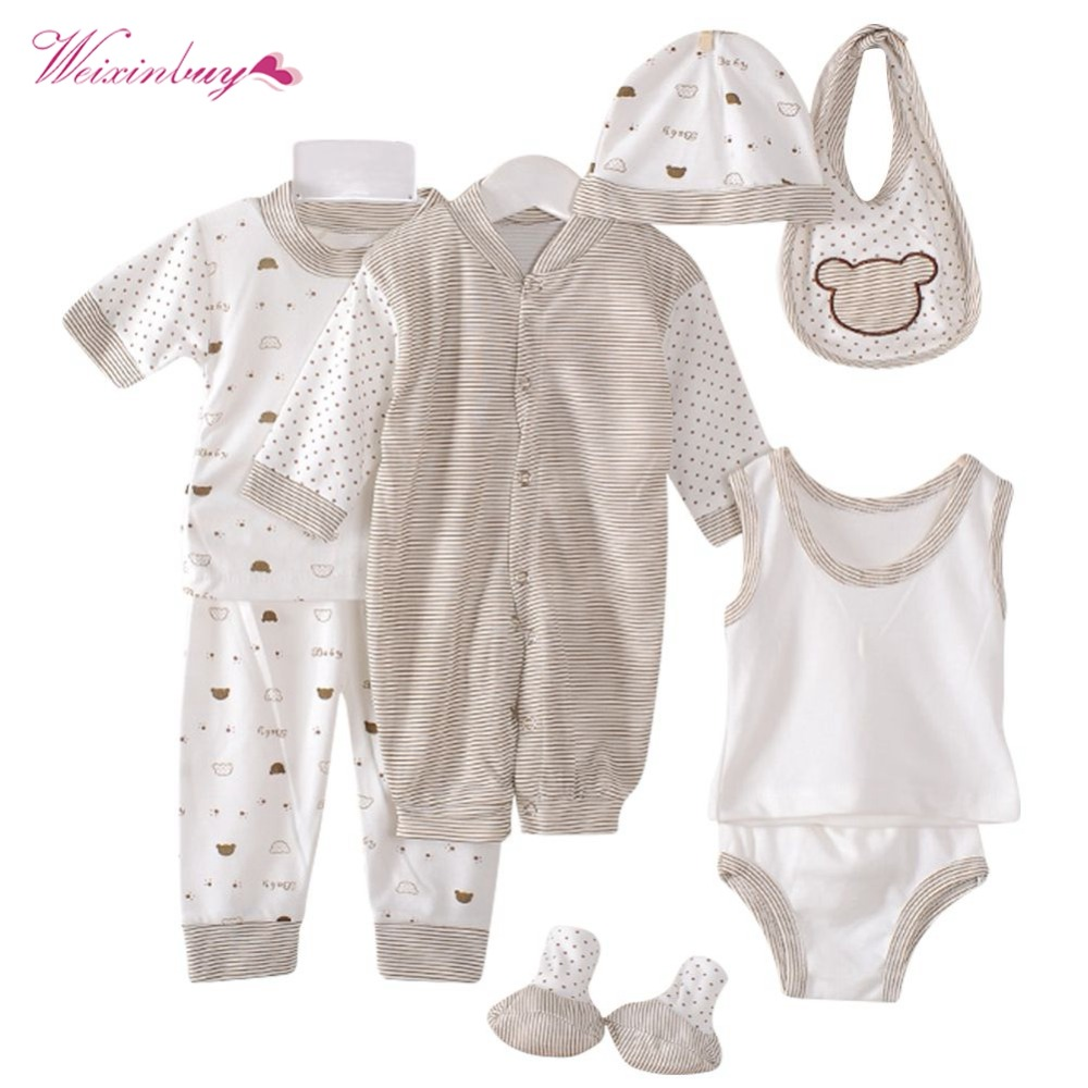 Weixinbuy Newborn Baby Clothing Set 0 3m Brand Baby Boy