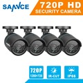 2016 Hot SANNCE H.265 4PCS 720P TVI CCTV Camera Video Indoor Outdoor IR Night Vision Security Surveillance Bullet Cameras 1.0MP