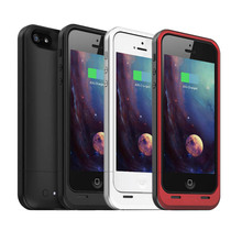 SYNC Date External 2100mAh Power Bank Backup Charger Pack Battery Case for iPhone 5/5s With Audio Cable