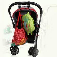 2pcs Baby Stroller Hook Bag Handle Grab Hook Holder Hanger Hooks Stroller Accessories Prams Hook for Baby Strollers