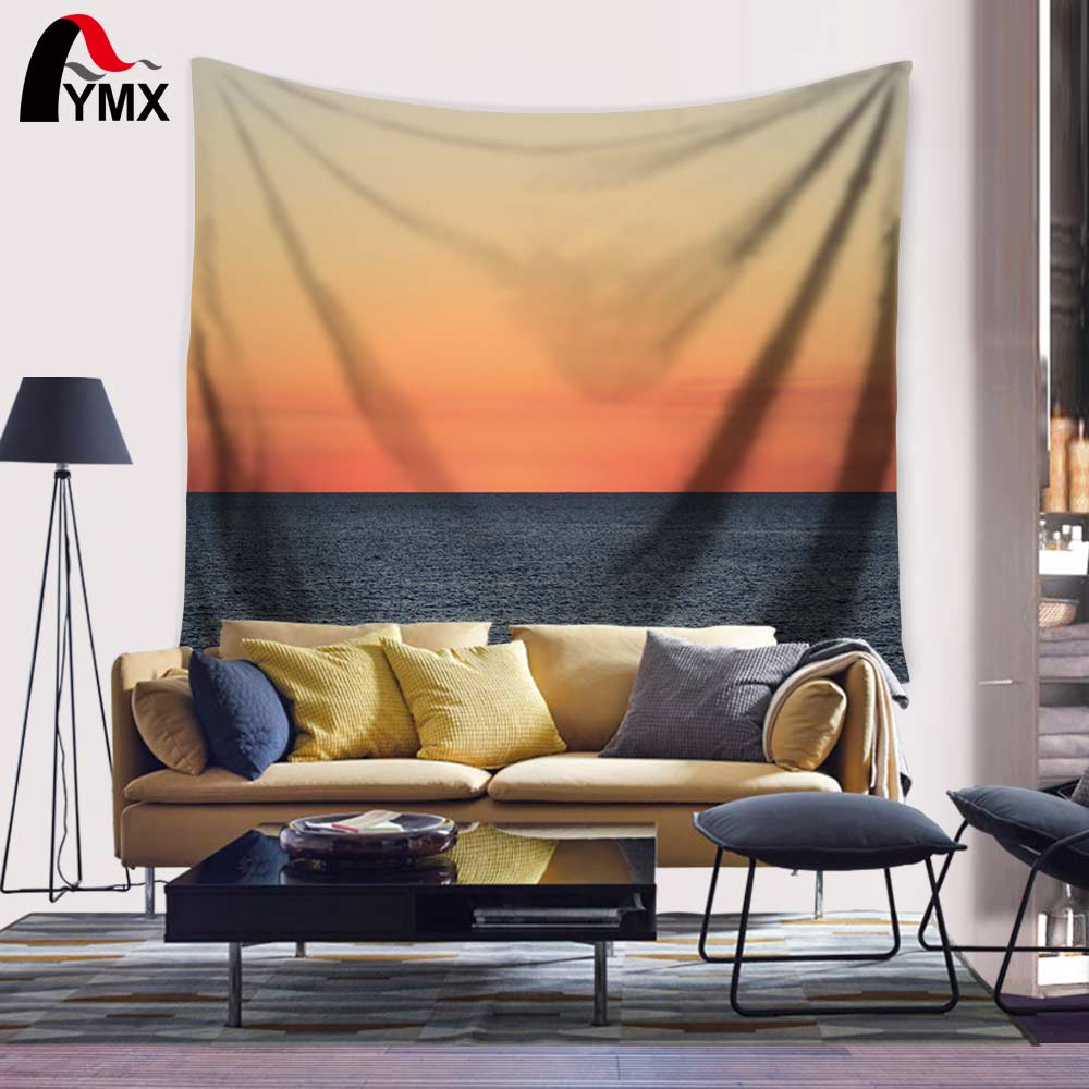 Malam Chill Beach Canvas Print Wall Art Tapestry 150X130 / 200CM - Tekstil rumah - Foto 2