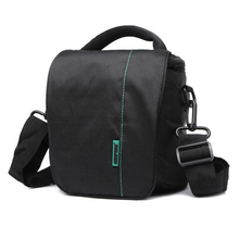 New Fashion Outdoor Photograghy DSLR Camera Bag High Quality Nylon Fabric Material Waterproof SLR Camera Bag Red Black.