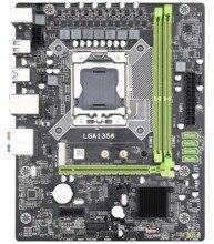 X79A Lga 1356 anakart Usb3.0 destek Reg Ecc sunucu bellek ve Lga1356 Xeon E5 işlemci masaüstü sunucu için Ddr3 Ecc reg R