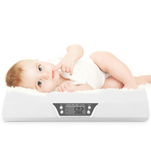 LCD Digital Electronic Stable Scale Baby Weighting Scale 20kg Mini Multifunction Low Alarm Kids Pet Body Weight Meter BS-199 pet weight scale 150kg 50g stainless steel pet electronic scale pet dog weight electronic weigh 110 220v 1pc